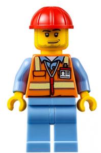 Lego City Minifigur